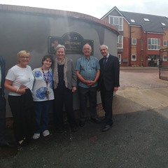 Margaret Greenwood MP on a visit to Lee Court