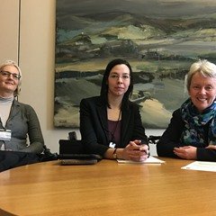 MP meets disability campaigners