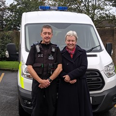 MG Police Visit